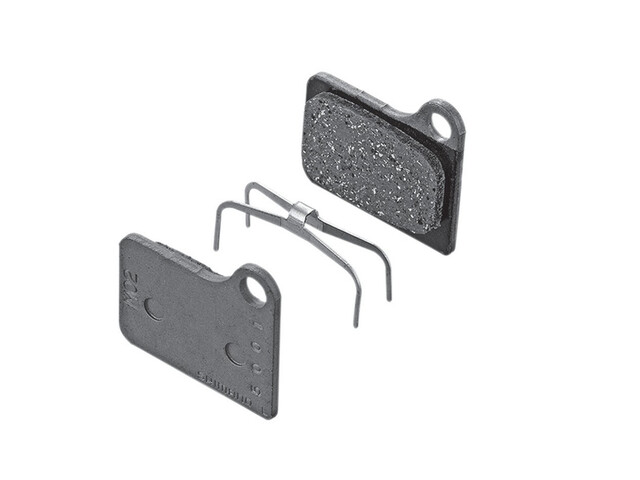 Shimano M02 Brake Pads Resin grey/black